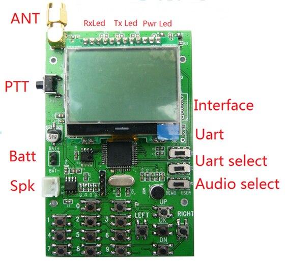 FRS-DEMO-D Wireless Walkie-talkie Module Wireless Transceiver Development Board