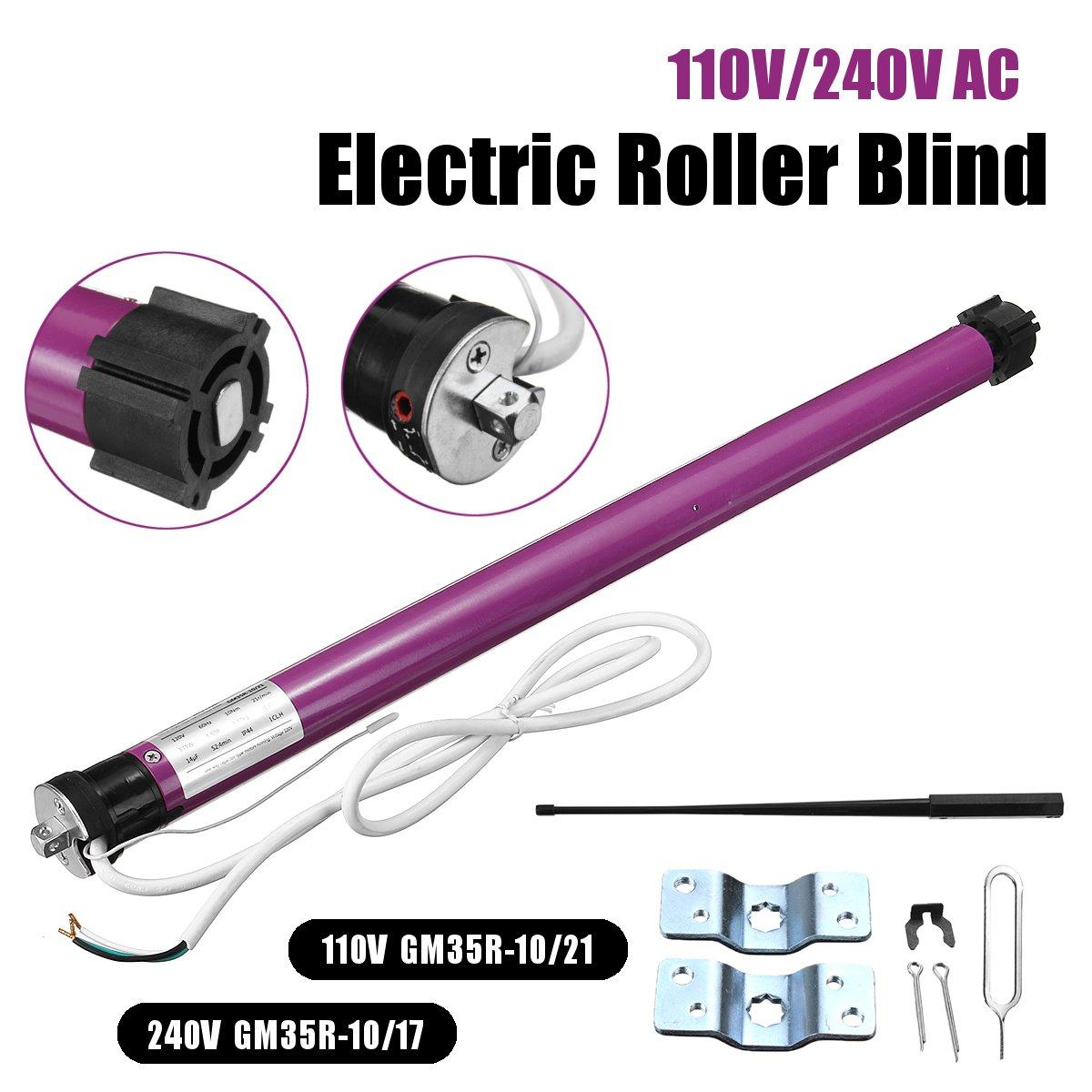 110V/240V 60cm Roller Shade Motor Tubular Electric Curtains Motor Roller Set blind shutters Blind Tubular Motor