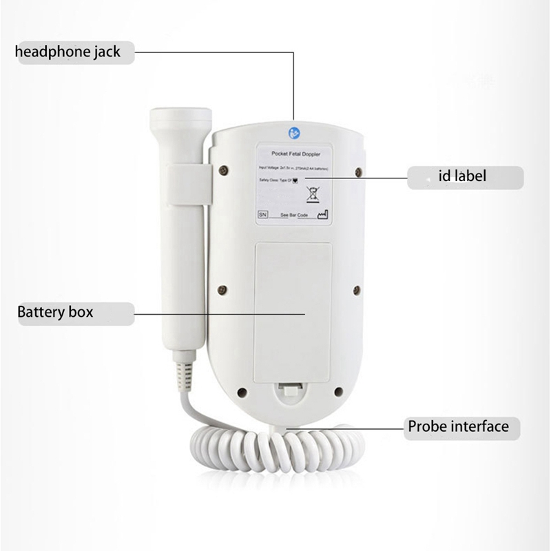 doppler fetal, de bolso, digital
