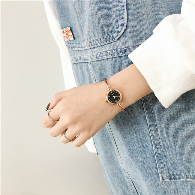 Roma Number Retro Women Bracelet Watches 2019 Ulzzang Brand Luxury Fashion Small Ladies Watch Simple Female Quartz Wristwatches