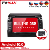 Android 10.0 Car multimedia Stereo player For Fiat Ducato Jumper Boxer 2011 2015 DVD GPS Navi auto radio audio stereo Head unit