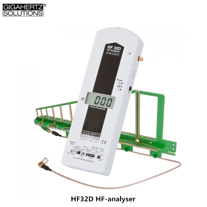 Genuine GIGAHERTZ HF32D High-frequency Electromagnetic Radiation Detector Wi-Fi Electromagnetic Radiation Monitoring Instrument