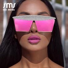 موضة ساحة الراين النظارات الشمسية النساء 2020 الفاخرة مرآة Steampunk نظارات شمسية الرجال نظارات ظلال UV400 oculos نظارات