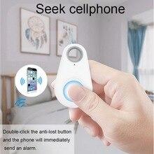 цена на Smart Remote Control Anti Lost Keychain Bluetooth Tracker Key Finder Tags Locator GPS Locator For Kids Pet Dog Cat Child 2PCS