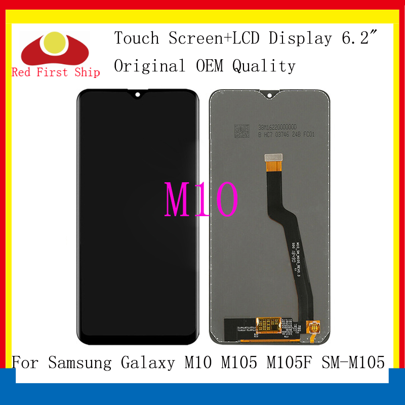 Original For <font><b>Samsung</b></font> Galaxy <font><b>M10</b></font> M105 M105F SM-M105 <font><b>LCD</b></font> Display Touch <font><b>Screen</b></font> Digitizer Assembly Replacement <font><b>M10</b></font> Monitor <font><b>LCD</b></font> image