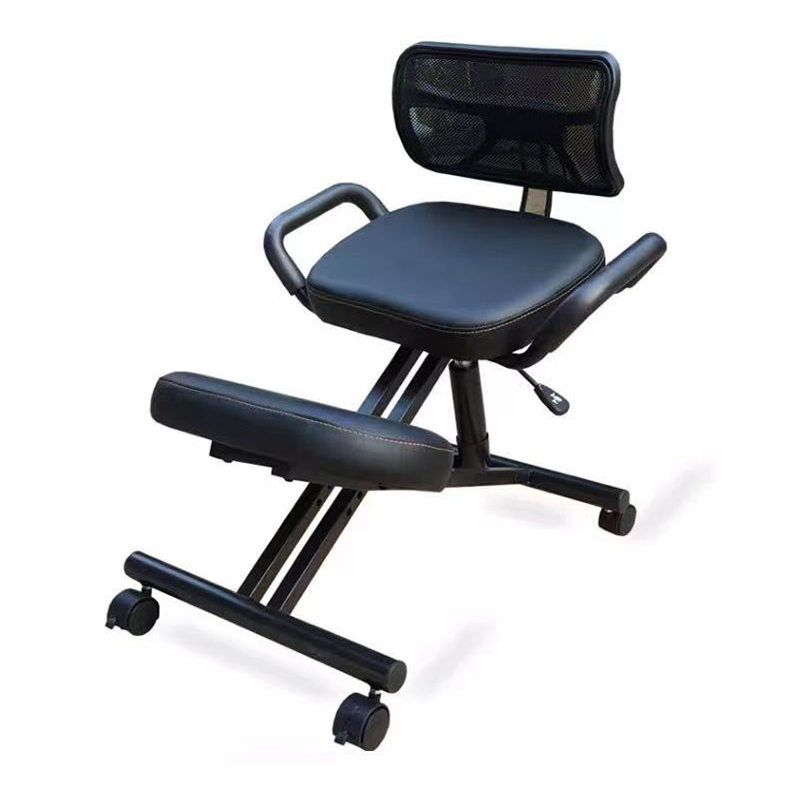 Ergonomically Designed Knee Chair with Back and Handle Office Kneeling Chair Ergonomic Posture office chair Free shipping