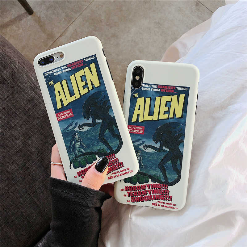 Europese Amerikaanse films Telefoon Cover Case Voor Iphone X 11 pro Xs Max Xr 10 8 7 6 6s plus Luxe Soft Matte Paar Coque Fundas