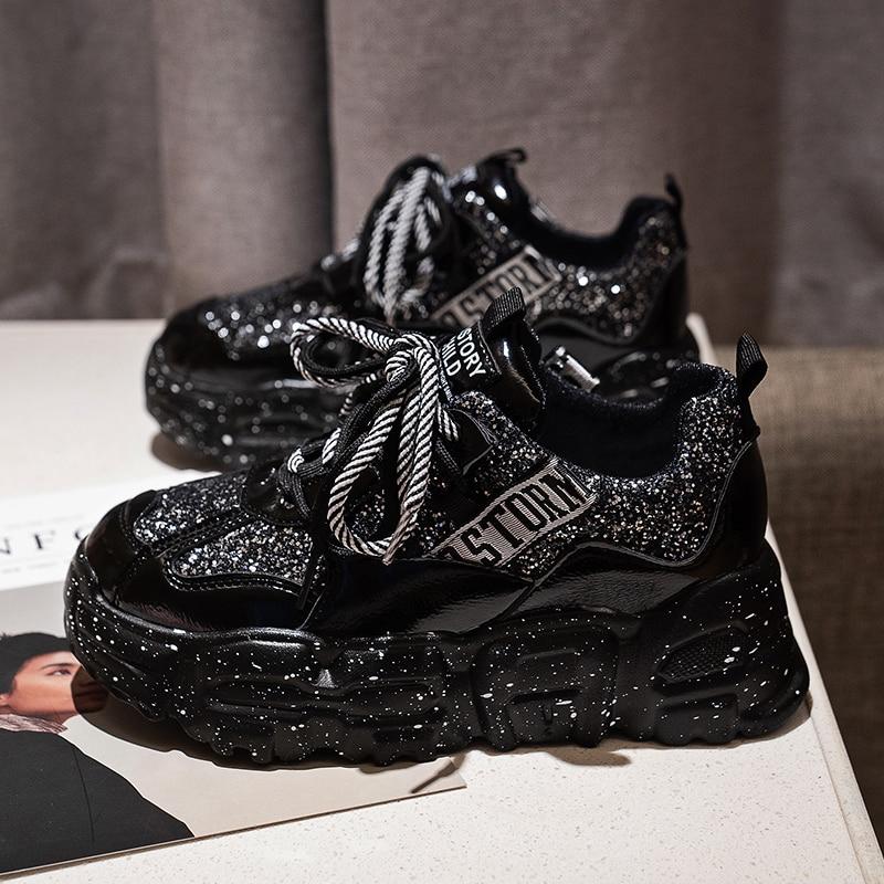 2020 Women Platform Sneakers Luxury