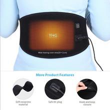 ไฟฟ้าเครื่องทำความร้อนเอวเอวอุ่นCorsetเข็มขัดผู้หญิงPeriod Low Back Pain Relief Lumbarสนับสนุนมดลูกอุ่นเข็มขัด