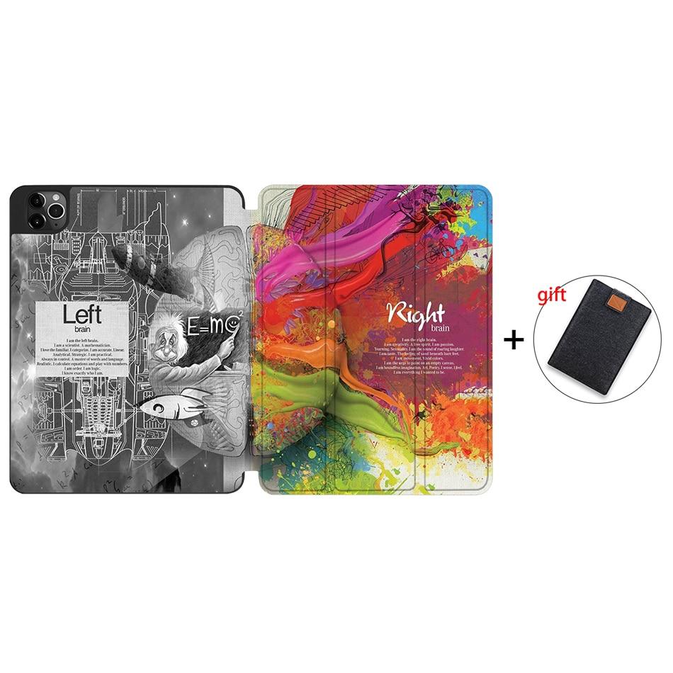 IPTPU01 Red MTT Soft TPU Case For iPad Pro 11 inch 2nd Gen 2020 Tablet PU Leather Flip