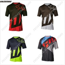 2020 MTB jersey motocross Moto jersey GP Mountain spexcel Bike Motocross MX Cycling Jersey BMX DH short MTB Tshirt moto Clothing cheap RACESTARS Polyester Unisex foxs tlds Spring Jerseys No Zipper Fits true to size take your normal size Breathable