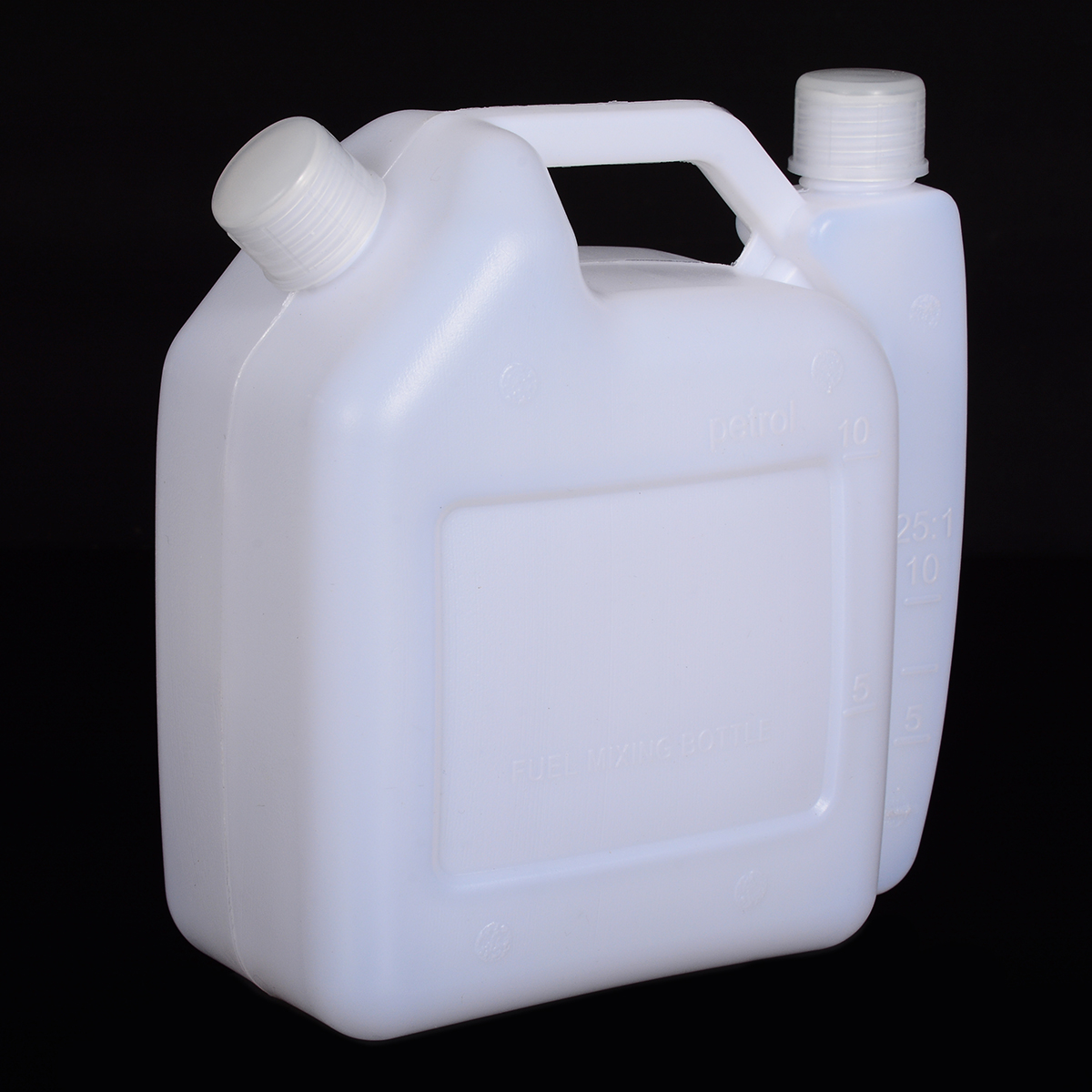 1PC 16x7.3x16.7cm 1.5L Litre 2-Stroke Petrol Fuel Oil Mixing Bottle Tank Garden Trimmer Chainsaw Tools Accessories