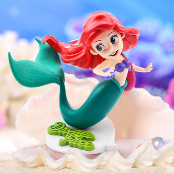 13cm Beauty Princess Ariel Little Mermaid PVC Figure Doll Toys Pose Model Collectible Toy Decoration Doll Girl Birthday Gift q posket characters the little mermaid princess ariel pvc figure collectible model toy 11cm