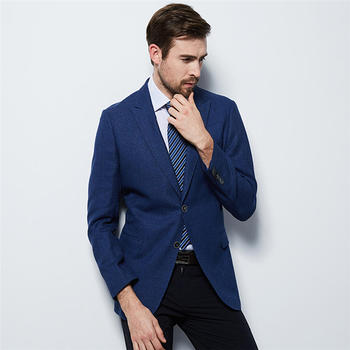 Blazer Masculino Mens Suits (Jacket+Pants) Fashion Slim Fit Formal Bussiness Blazer Masculino Single Button Coat Wedding