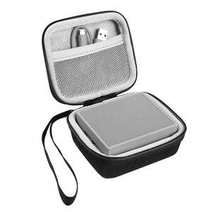 Image 2 - محمولة EVA سحاب غطاء واقٍ مزخرف لهاتف آيفون حقيبة التخزين صندوق للذهاب 2 سمّاعات بلوتوث