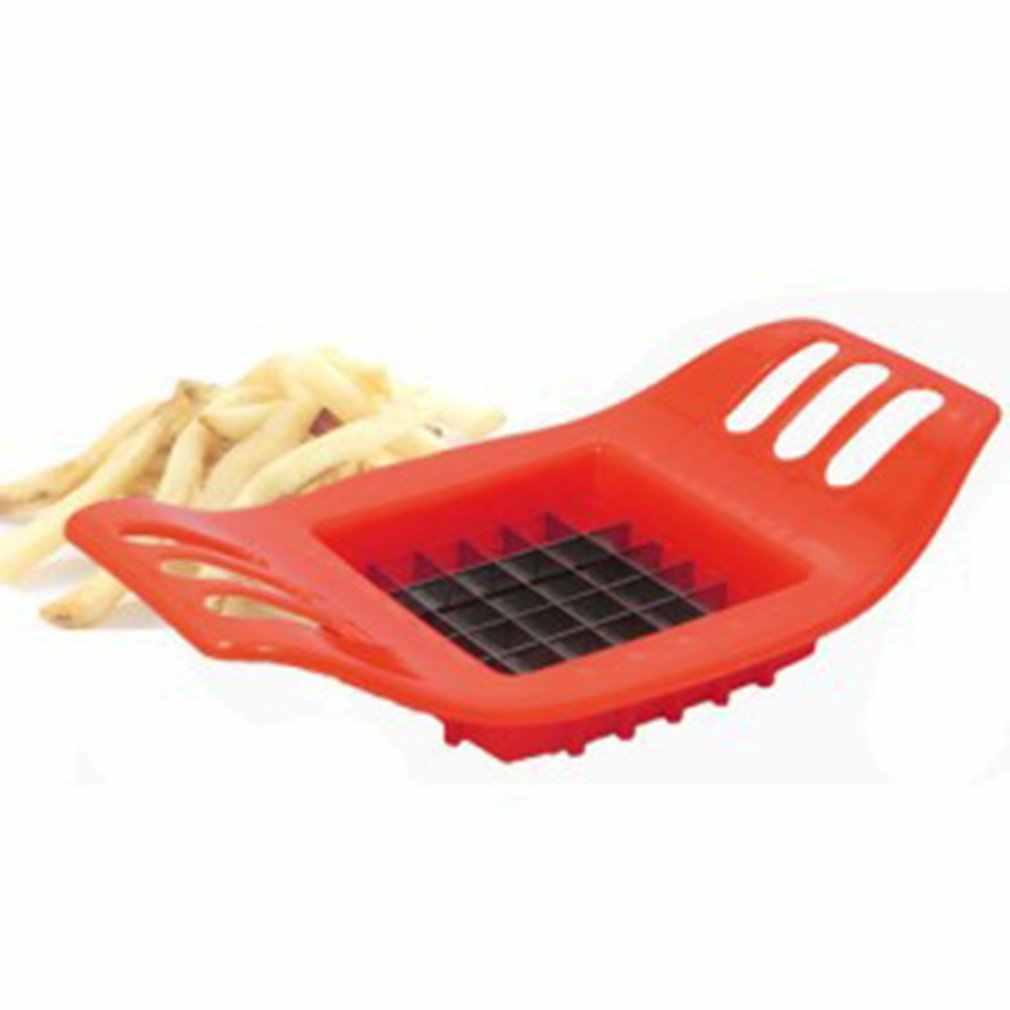 อุปกรณ์ตัดมันฝรั่งตัด Fries ชุดทอดฝรั่งเศสเส้นด้ายชุดเครื่องตัดแครอทผักเครื่องตัด Graters Chopper Chips เครื่องมือ