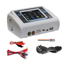 HTRC 150W AC/DC 10A Balance Charger T150 Smart Discharger for Lilon/LiPo/LiFe/LiHV/NiCd/NiMH/PB Battery Charger US Plug