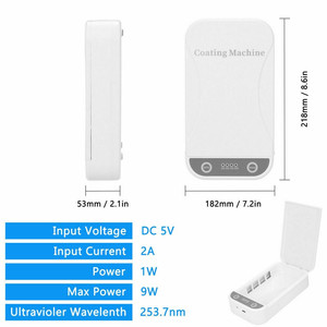Image 5 - Dezynfekcja UV dezynfekcja Box zapobieganie grypie na telefon komórkowy wielofunkcyjny automatyczny sterylizator UV dla Iphone Huawei smartfony