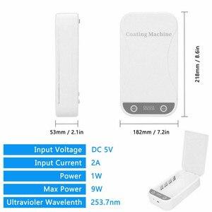 Image 5 - UV חיטוי תיבת Sanitizer למנוע שפעת עבור טלפון נייד תכליתי אוטומטי UV עבור Iphone Huawei חכם טלפונים