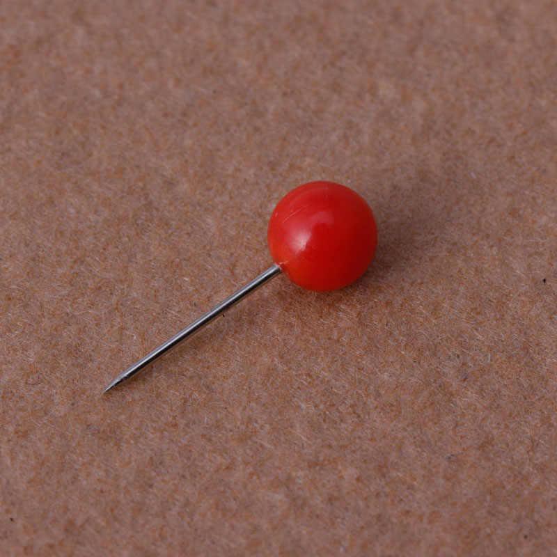 50 Pcs/set Baru Kantor Paku Payung Push Pin Logam Perlengkapan Kantor & Sekolah Cork Dinding Kuku Foto Kancing Dinding