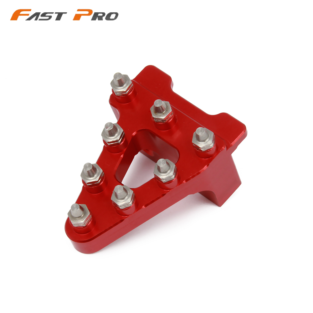 CNC רגל בלם דוושת טיפ מנוף שלב צלחת טיפ החלפה עבור הונדה CRF50 XR50 Pitster Pro Coolster שד X WPB אוריון בור אופניים