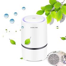 цены RIGOGLIOSO Air Purifier for Home HEPA Filters Low Noise Portable Air Purifier with Night Light Desktop USB Air Cleaner GL2103