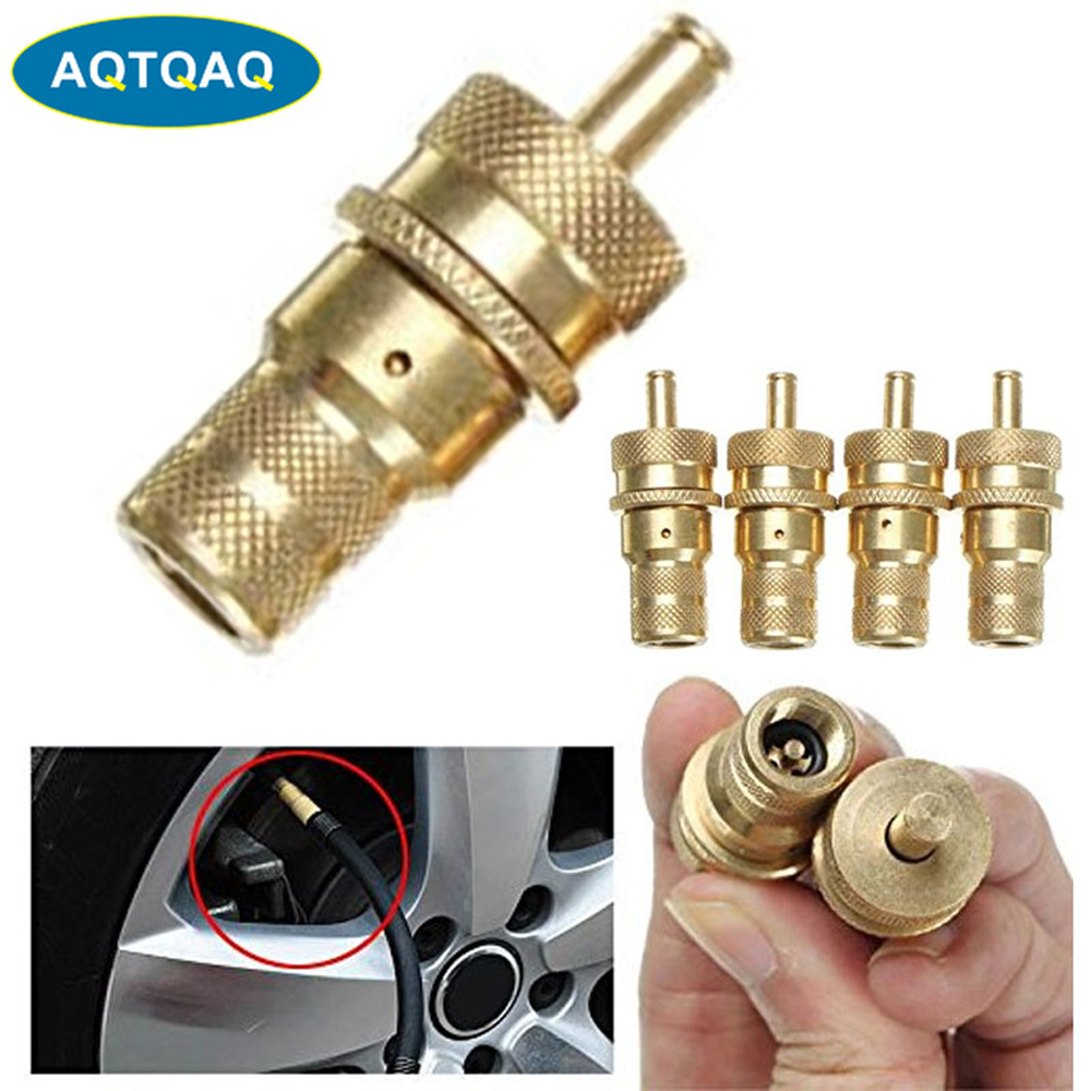 1Pcs 4WD Universal Brass Off The Road Automatic Tire Deflators Accessories Kit 6-30 PSI Adjustable  Bleeder Set 6-30 PSI Auto Ca