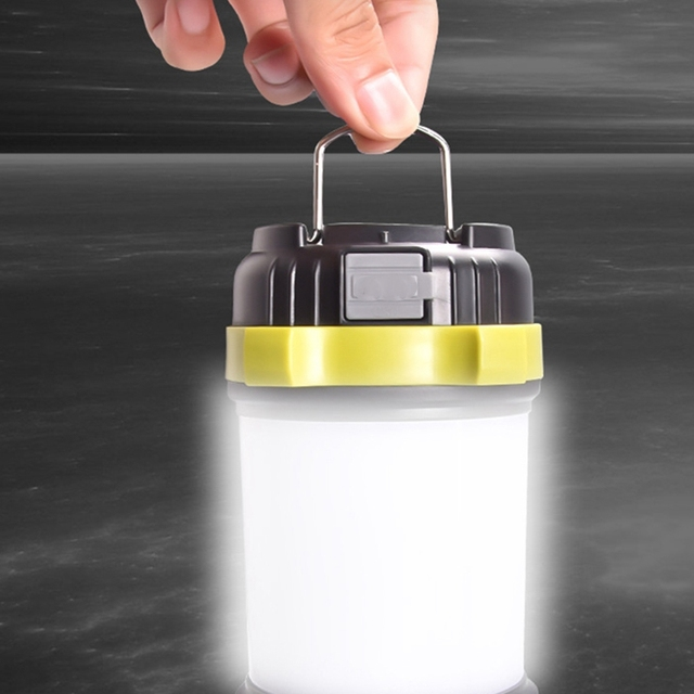 Outdoor Camping Light Camping Led Work Light Usb Charging Emergency Tent Light Glare Super Bright 3