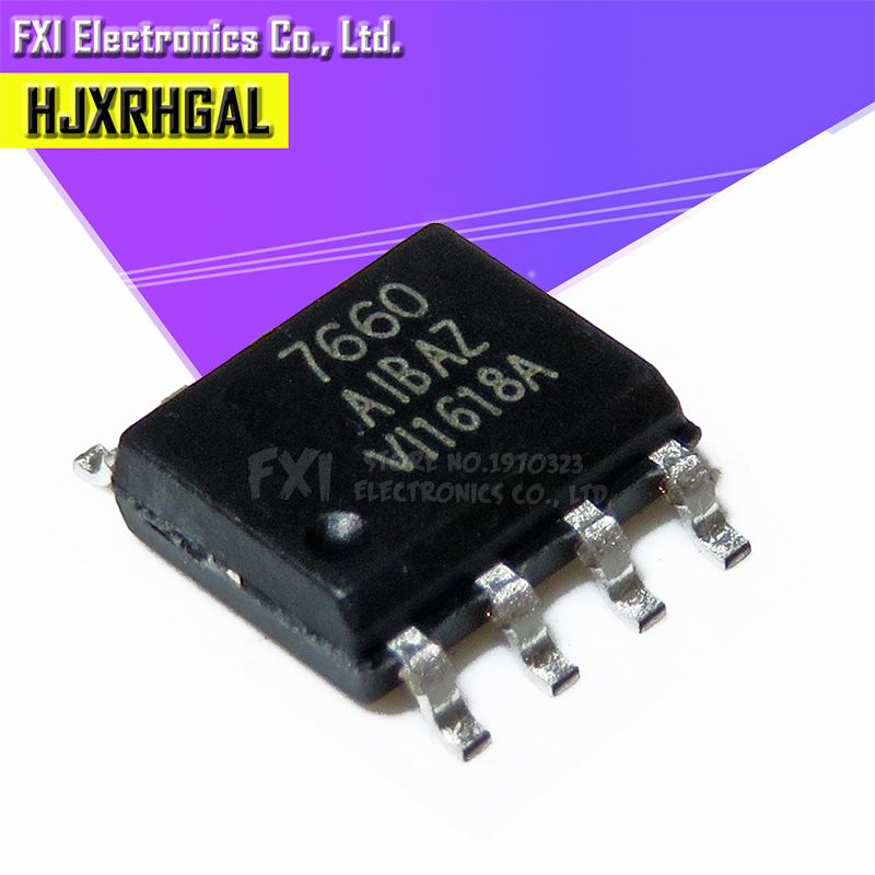 10PCS ICL7660SIBAZ SOP-8 Super Voltage Converter NEW IC