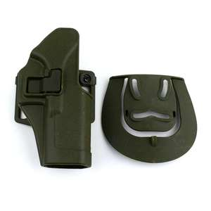Image 3 - Tactical Pistol Glock Holster With Gun Sling MOLLE Platform Magazine Pouch Airsoft Belt Gun Holster For Glock 17 19 22 23 31 32