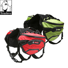 Truelove Pet Backpack Carrier Harness and Bag Space Waterproof Detachable Large Two Used for Outdoor Walking Hiking