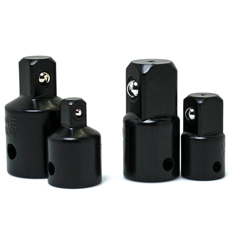 4pcs Impact Adapter And Reducer Set For Use With Impact Wrenches And Drills In Auto And Construction Work Set Adapter