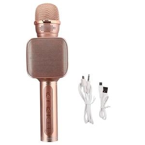 Image 5 - SU YOSD Ys 68 karaoke microfone com luz noturna na mão