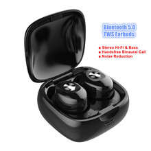 True Wireless Stereo Earphones Mini Binaural Call Hi-Fi TWS Earbuds Bluetooth Headset With Microphone mini real wireless earphones t1 tws bluetooth v5 0 earbuds hi fi stereo sound earphone call reminder portable headset with mic