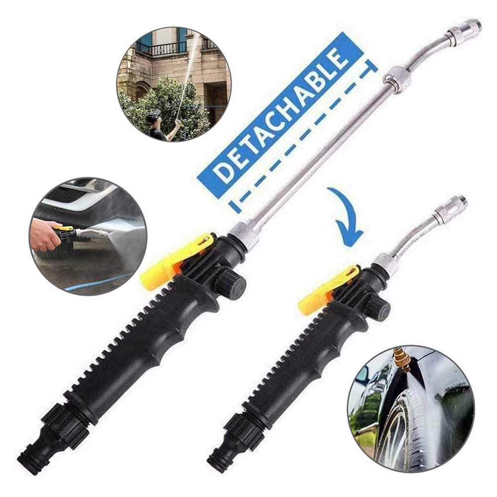 48cm Car Whsh Gun High Pressure Power Water Jet Washer Tools Car Cleaning Watering Lawn Garden