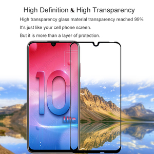 Image 5 - Screen Protector Tempered Glass Full Cover For Huawei Honor 10 Lite On Scratch Proof Protective Case Film For Honor10 Lite Glass