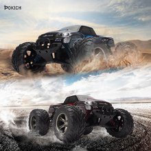 Pokich 2019 New Professional Elextric Racing Pickup RC Truck Offroad Cars GPTOYS 1/12 42km/h Speed Remote Control Kid Toy Gift
