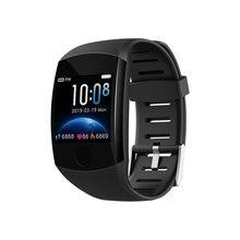 2019 새로운 Q11 슈퍼 긴 대기 스마트 워치 혈압 심장 박동 모니터 피트니스 팔찌 시계 남자 여자 Smartwatch PK Q9