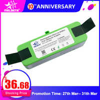 5.2Ah 14.8V Li-ion Battery for iRobot Roomba 900 800 700 600 500 Series 960 980 981 530 560 620 650 770 780 870 with Brand Cells