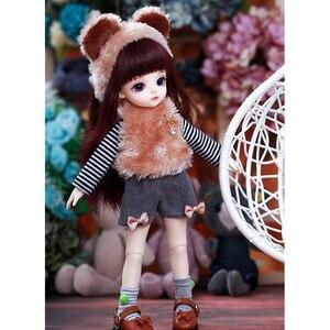 Image 4 - Miyo LCC BJD SD bebek 1/6 vücut modeli erkek kız Oueneifs yüksek kaliteli reçine oyuncaklar ücretsiz göz topları moda mağazası ortak bebek