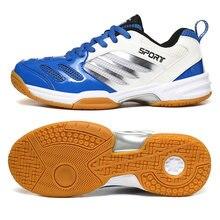 Новинка мужская тренировочная обувь для бадминтона большой размер