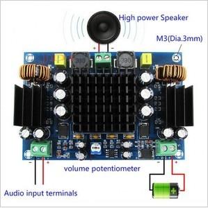Image 1 - 150 w tpa3116d2 mono canal placa amplificador de áudio potência digital duplo sistema reforço para o carro