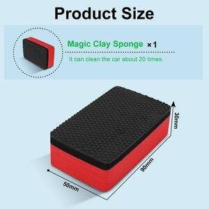 Image 3 - 다기능 자동차 자동 바퀴 브러쉬 스폰지 클리너 도구 타이어 허브 왁싱 연마 브러쉬 청소 도구 자동차 액세서리