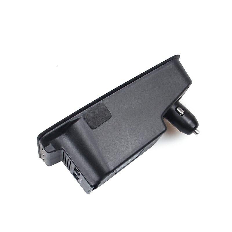 Chargeur sans fil de voiture pour volvo XC90 nouveau XC60 S90 V90 2018 2019 plaque de chargement de téléphone mobile spécial accessoires de voiture - 4