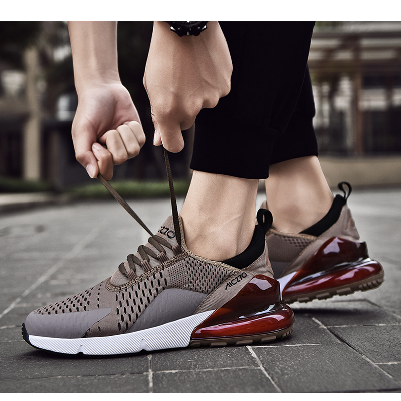 H5e86dacd7b414af99fd303fae33e8619P Fashion Men Casual Shoes 2019 brand sneakers men Lightweight Lace-up Walking Sneakers trainer Male Footwear plus size 39-47
