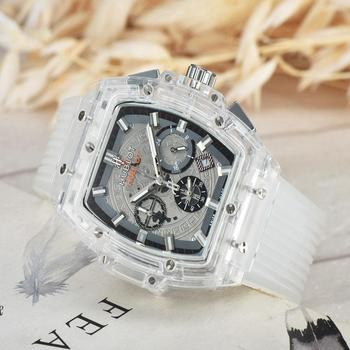 NEW Luxury Brand Mechanical Wristwatch Mens Watches Quartz Watch With Stainless Steel Strap Relojes Hombre Automatic 78