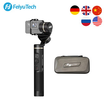 FeiyuTech Feiyu G6 3-Axis Action Camera Handheld Gimbal Stabilizer OLED Screen for Gopro Hero 8 7 6 5 Sony RX0 Yi cam 4K nzxt h500 ca h500b w1 белый
