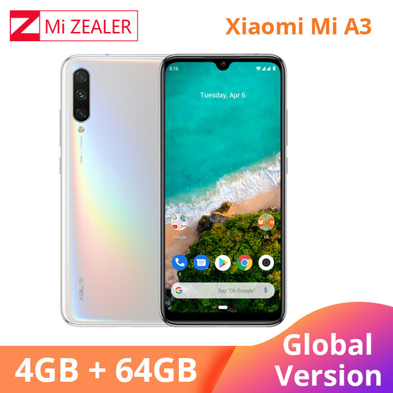 2019 New Global Version Xiaomi Mi A3 4GB 64GB Smartphone  4030mAh 6.088