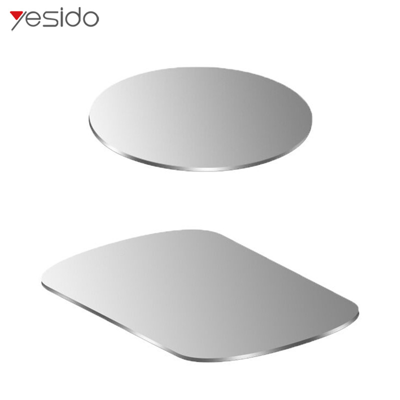 Yesido Car Phone Holder Metal Plate Magnetic Disk Iron Sheet For Magnet Car Mobile Phone Holder & Iron Sheets For Phone Stand In