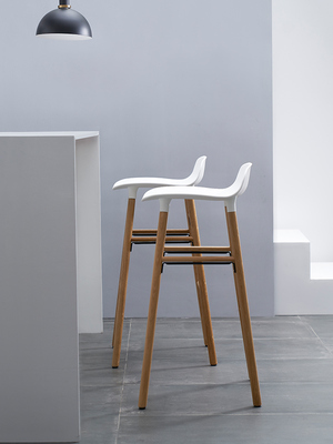Nordic Ins Simple Bar Chair, Bar Stool, High Stool, Fashion And Creative Designer, Individual Family Bar Chair